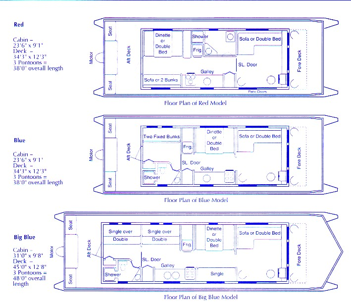 House boat plans to live the idyllic life on the water vocujigibo house boat plans solutioingenieria Gallery