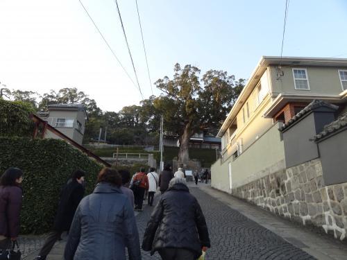 諏訪神社へ