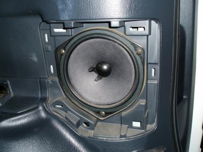 RF3 ステップワゴン リヤスピーカー 交換