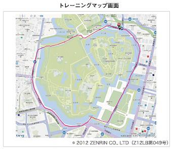 リスタブルGPSマップ