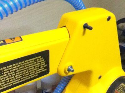 DW788フリーアームボルト装着