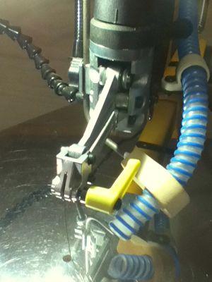 組木工房クイッククランプに交換