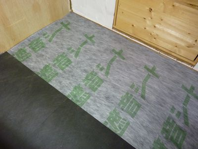 工房床遮音シート防振シート
