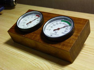 温湿度計完成1