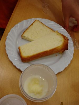 宝牧場バター作り