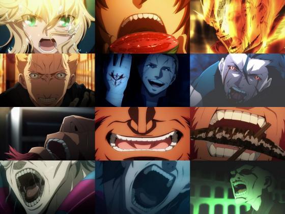 FateZero 歯の並び