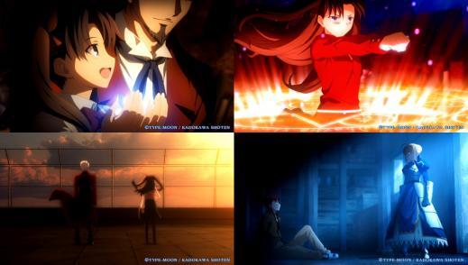 Vita版Fate 凛ルートOP (2)
