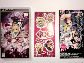 PSP Fate/EXTRA CCC 購入 (14)