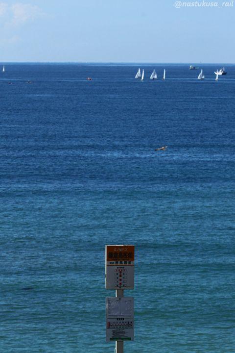 海のバス停