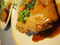 11月18日蒸し鶏の照り焼き