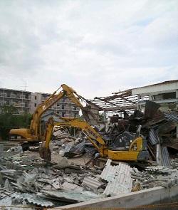 Bアパート解体