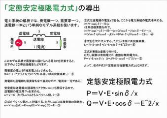 定態安定極限電力式