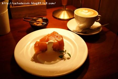 CAFE JI*MAMA◇南会津産リンゴのタルトタタン