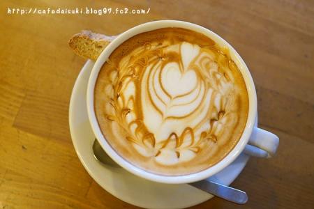 コーヒーとタイヤキのカラク◇キャラメルカプチーノ