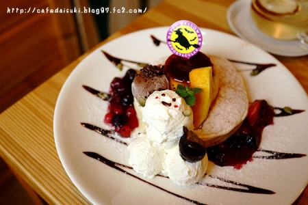 森のvoivoi◇かぼちゃのハロウィンパンケーキ