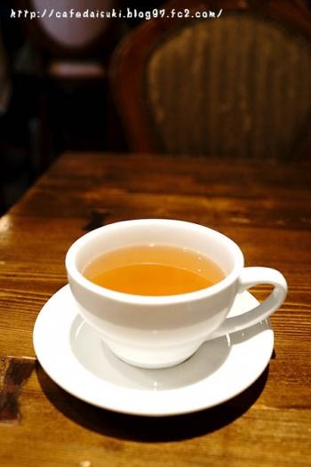 カフェ・わかば堂◇自家製ジンジャーティー