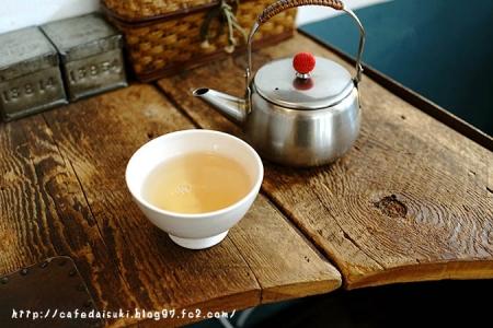 お茶とお菓子 横尾◇極品ジャスミン茶