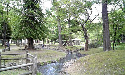 知事公館のお庭