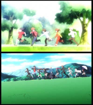 OPで走るアニメは優秀