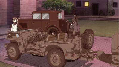 軍部で縛られる静夏