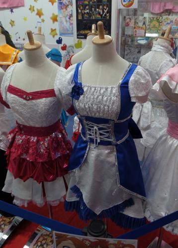 千早と春香の衣装