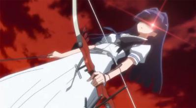 菫さんの弓矢