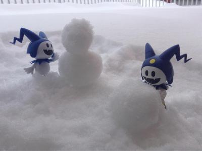 ジャックと雪だるま
