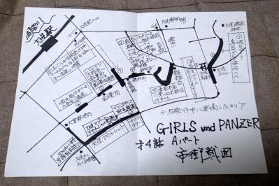 構内のマップ