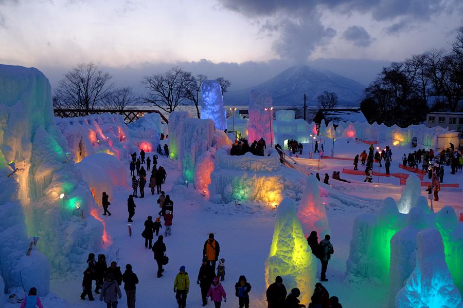 氷涛祭り1