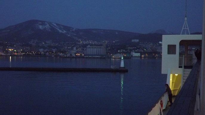 小樽港入港