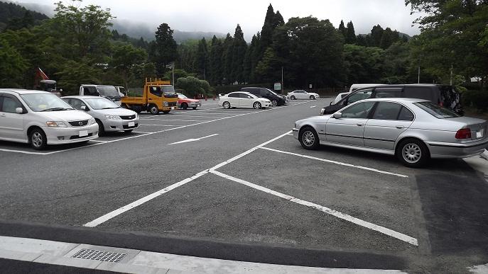 芦ノ湖駐車場