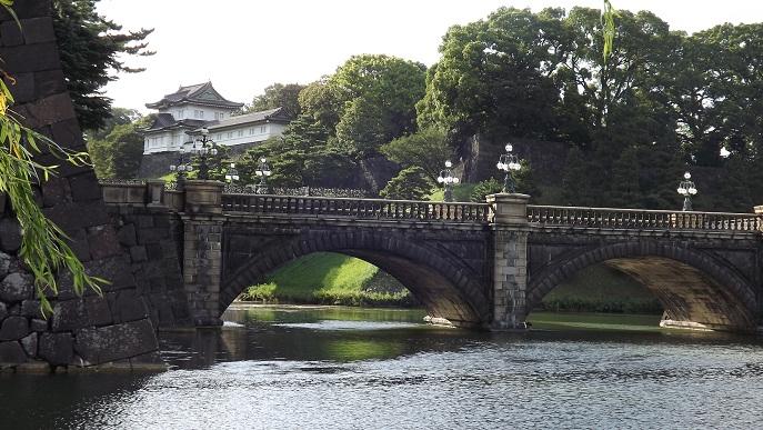 二重橋越しの富士見櫓