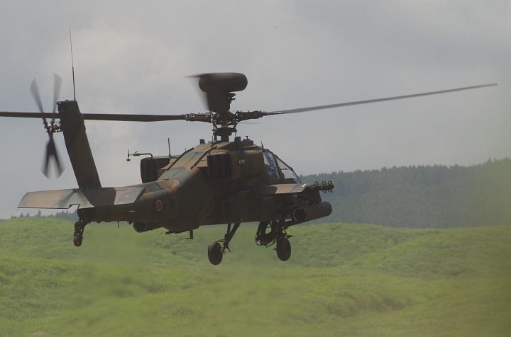 戦闘ヘリAH64Dアパッチ・ロングボウ