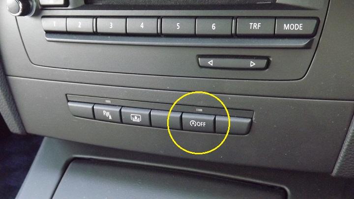 アイドリングストップボタン