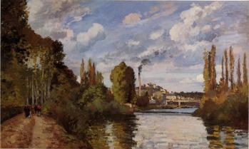 pissarro Riverbanks