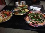 お寿司とオードブル