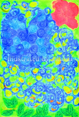 Cray196_Blue Rose Hert_desital