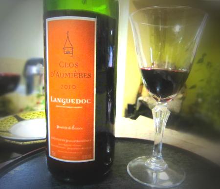今年最初に開けたワイン