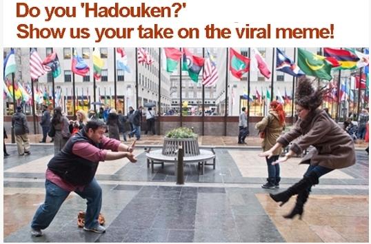 Hadouken Meme