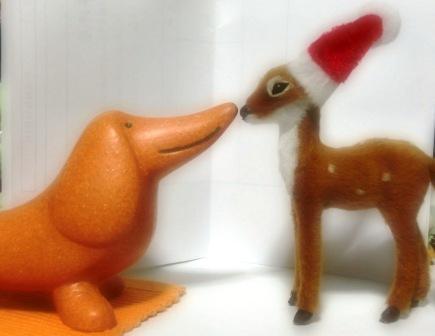 バンビとダックス