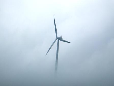 天空の風車