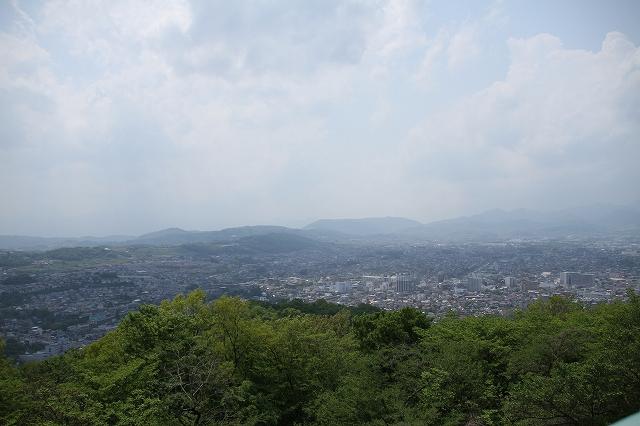権現山展望台