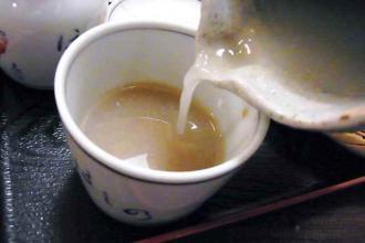 12-5-18 蕎麦湯