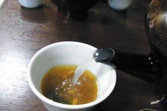 12-5-23 蕎麦湯