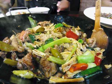 12-6-8-4 南京 鶏なべ