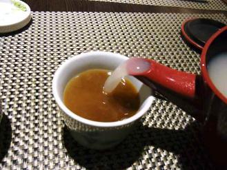 12-6-9昼3 紋兵衛 蕎麦湯そそぎ