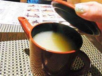 12-6-9昼3 紋兵衛 蕎麦湯