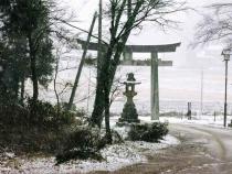 2013-12-13ゆかり 鳥居裏