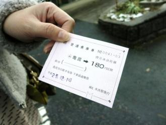 2013-12-13駅 切符