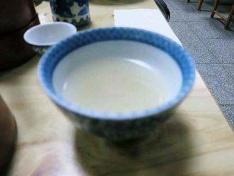 2013-12-13かねや 蕎麦湯